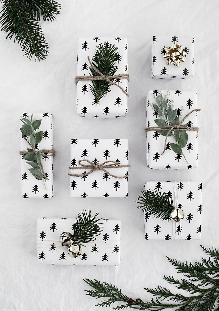 Printable Christmas Wrapping Paper + Canon Printer Giveaway