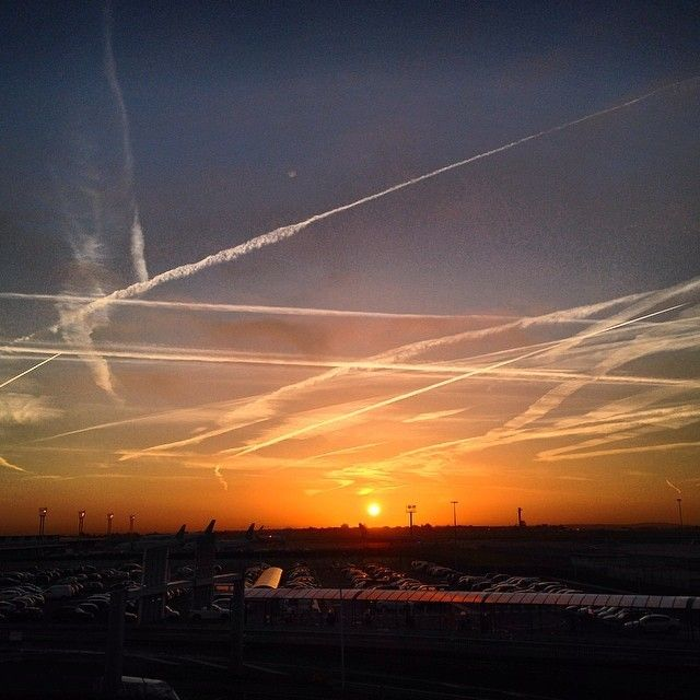 Orly Airport - Sunrise - Paris by Gilles Chappaz on 500px