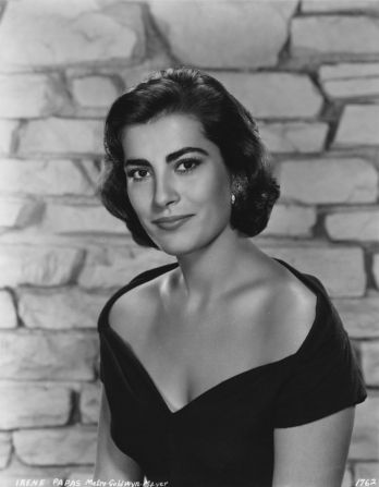 Greek actress Irene Papas turns 89 today - she was born 3-9 in 1926. Some of her long years of credits include The Guns of Navarone, Zorba the Greek, Z and  Electra.