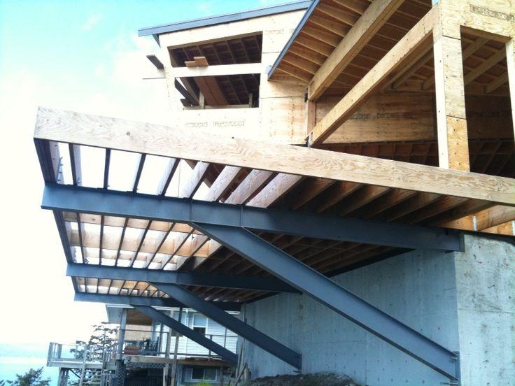 Graham Barron Design Blog Cliff House Deck Cantilever