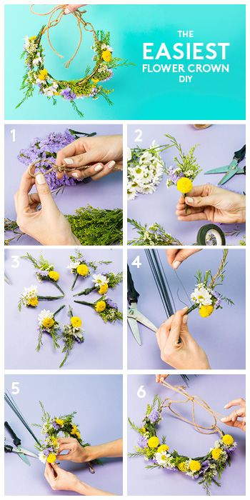 Your go-to guide for making the perfect flower crown