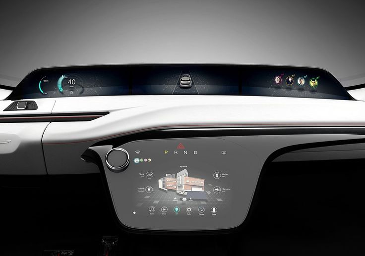 Chrysler Portal CES 2017 Cluster UI #automotive #meter #car
