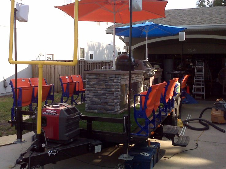 1000+ Ideas About Tailgate Trailers On Pinterest