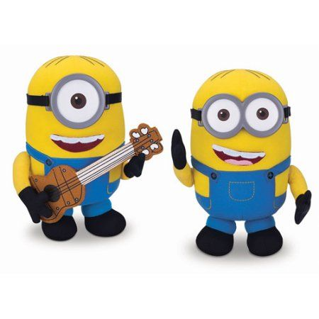 Minions Build A Minion Plush, Yellow