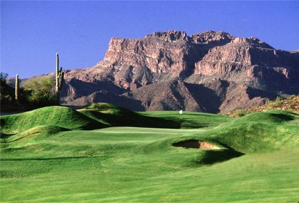 Gold Canyon, Arizona Golf Course Lots and Homes For Sale