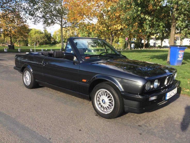 BMW E30 Cabrio 320i Shadow Line Original, Zustand 2, H-Zulassung ab 03.2018   Check more at https://0nlineshop.de/bmw-e30-cabrio-320i-shadow-line-original-zustand-2-h-zulassung-ab-03-2018/