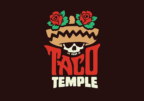 Taco Temple Logo on Behance