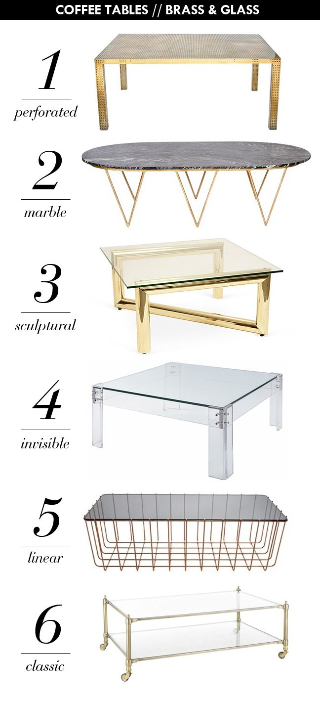 Glam Coffee Tables