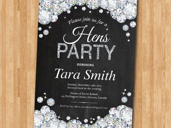 Hen Party Invitations