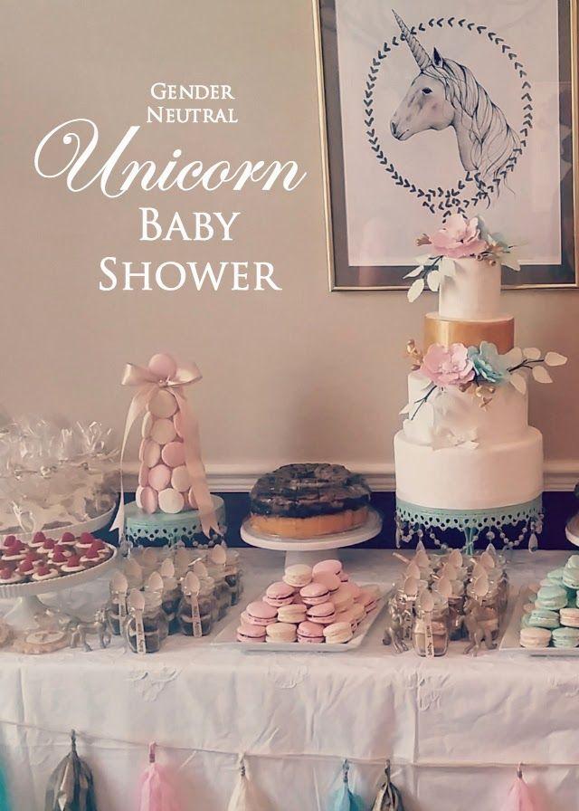 Gender Neutral Unicorn Baby Shower | Azucar by Alexandra