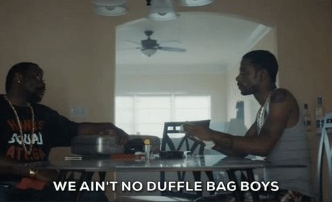 keith stanfield darius atlanta fx paper boi brian tyree henry we aint no duffle bag boys duffle bag boys #humor #hilarious #funny #lol #rofl #lmao #memes #cute