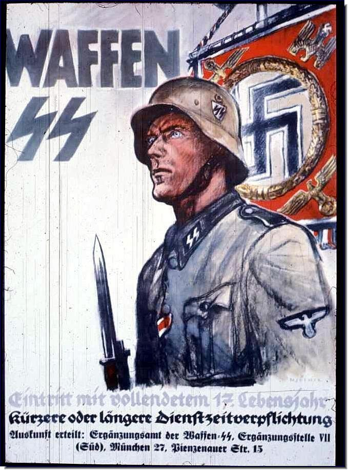 nazi posters | nazi-propaganda-posters-ww2-second-world-war-ss-recruitment-poster.jpg