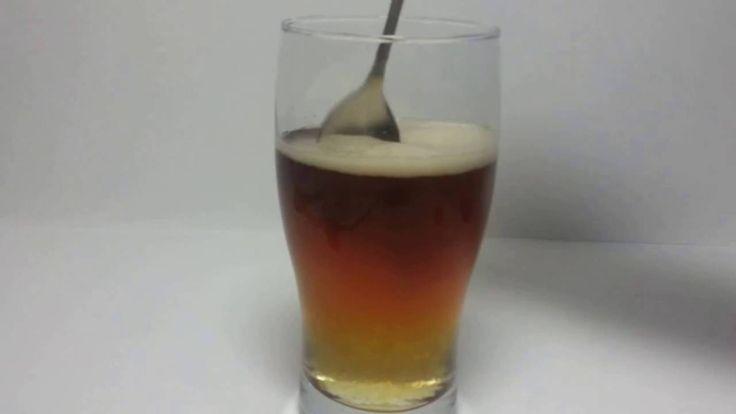 Coca Cola Experiment Decoloration Coca Cola With Domestos