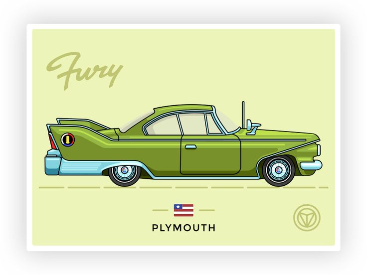 1960 Plymouth Fury by Illia Yakovlev