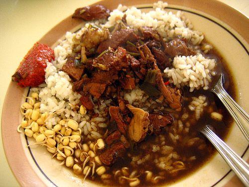 Nasi rawon. Indonesian food is incredible!