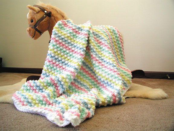 Baby Bubbles Crochet Afghan Free Crochet Pattern