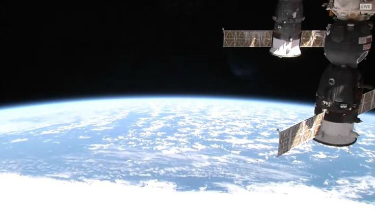 Watch the live feed from the International Space Station