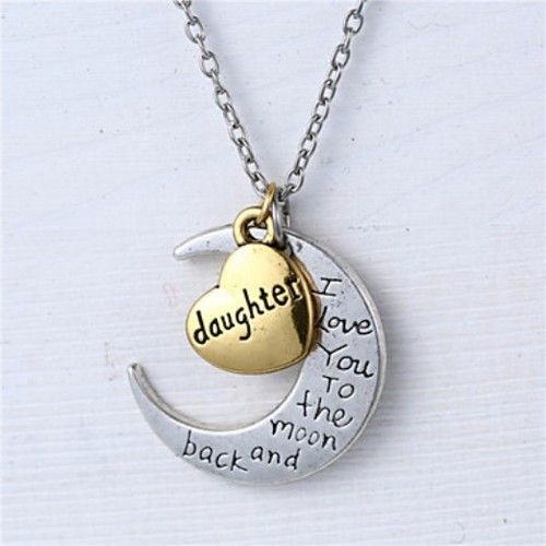 New  Love you Daughter necklace . Starting at $9.95 Comes with Chain  Comes with gift box Invoice through paypal  Shippint $2.50