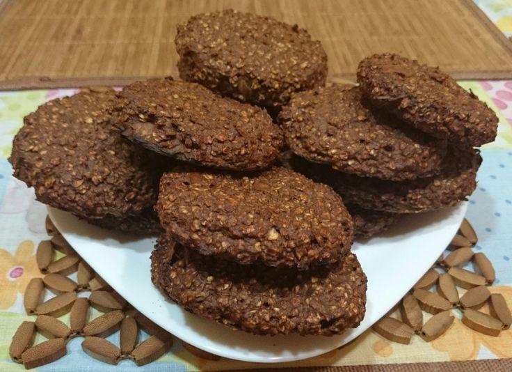 Csokis-banános zabpelyhes keksz recept   APRÓSÉF.HU - receptek képekkel