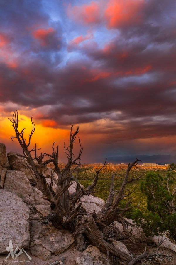 Sunset after the rain (Los Alamos, New Mexico) by Raven Mountain Images | Phillip & Monica Noll / 500px