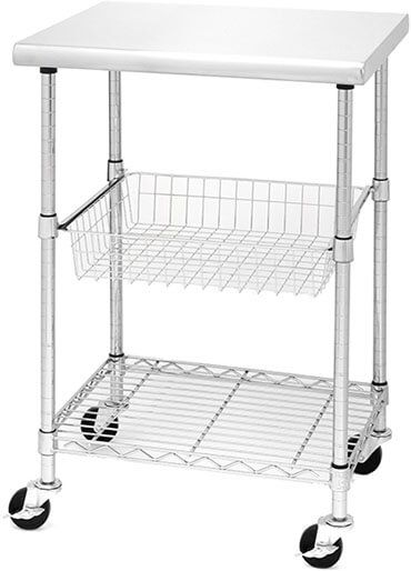Seville Classics Professional Kitchen Storage Cart