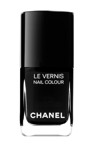 chanel black satin ... buying this now so I will have it for fall ... I always fall in love with a lipstick, nail color, even cheek color and they discontinue it !!!