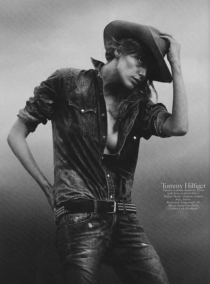 SHOT BY DAVID SIMS FEAT. DARIA WERBOWY