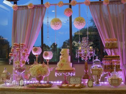 glam candy buffets | Vintage Glam Candy Buffet