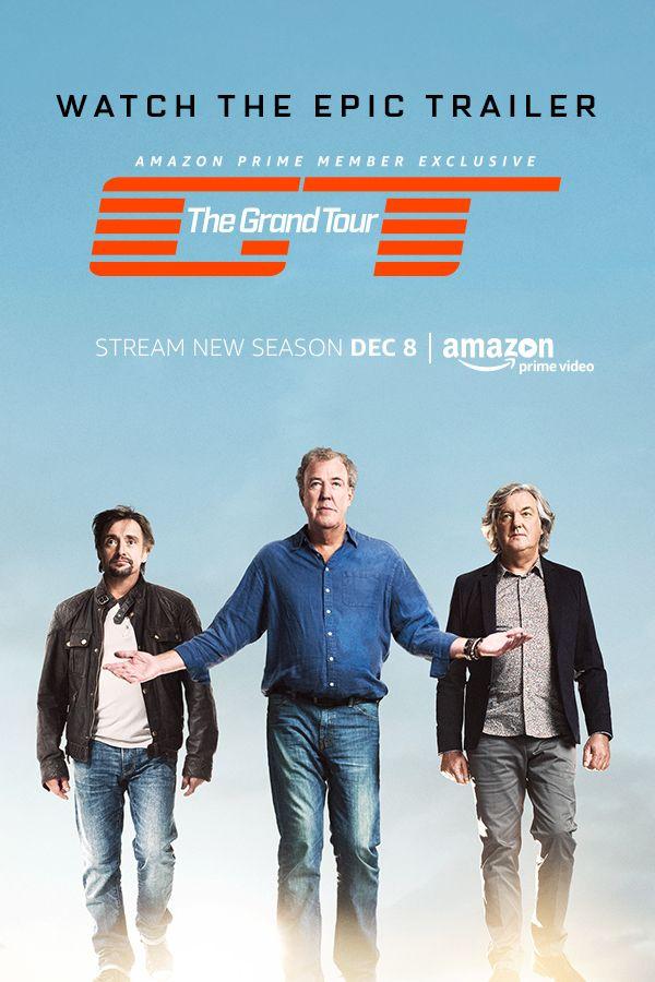 The Grand Tour Season 3 Streaming : grand, season, streaming, Jeremy, Clarkson,, James, Richard, Hammond, Grand, (2016), Tour,, Trailer,, Great, Shows
