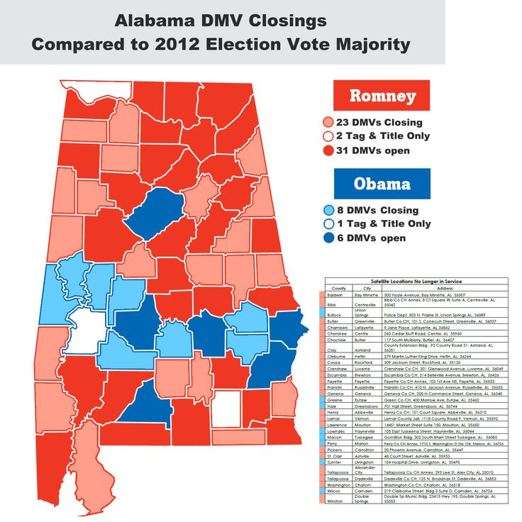 Alabama sends message: We are too broke to care about right and wrong. Every single county in which blacks make up more than 75 percent of registered voters will see their driver license office closed. Every one. | AL.com