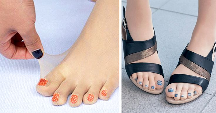Can't be bothered to paint your toenails or simply don't have the time? Well good news, because now you don't have to thanks to these toe-tally (sorry) bizarre pre-painted toenail stockings.