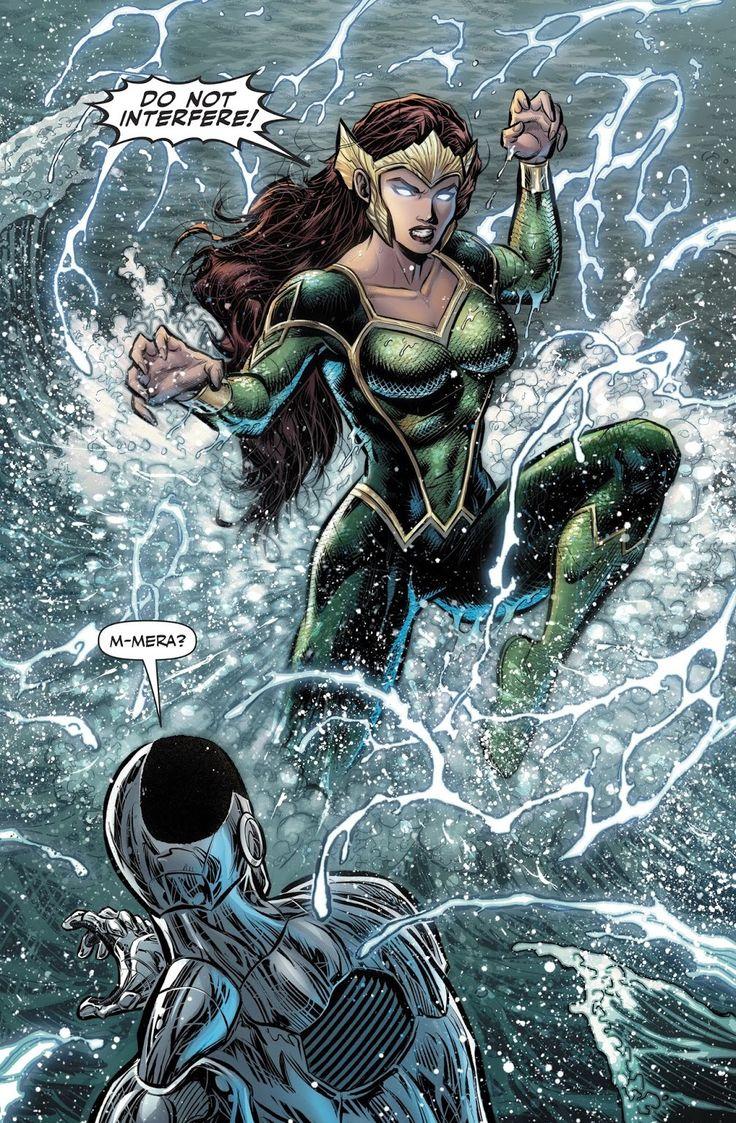 Justice league #24-Mera