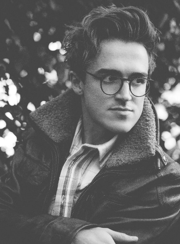 Tom fletcher is the god of making geek look sexy.
