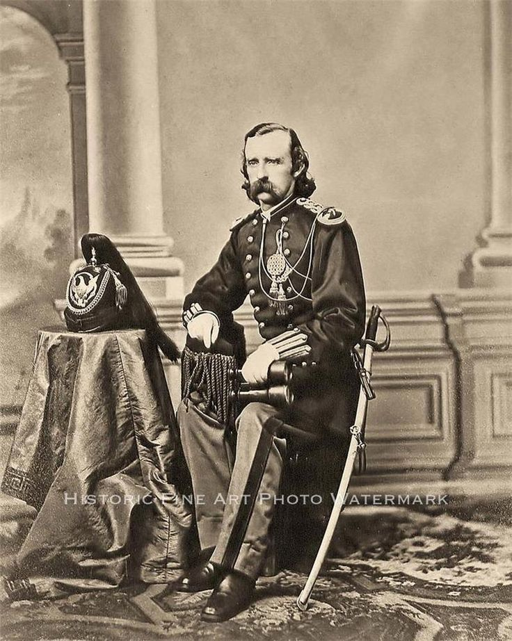 a report on general george armstrong custer On june 25, 1876, lieutenant colonel george armstrong custer and 12   custer received his appointment as brevet brigadier general on june 29, 1863   custer's official report claimed 103 indians killed, more than 40 of.