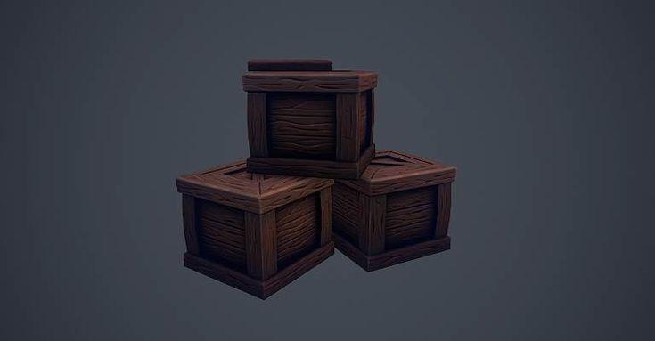 Crate, Dmitrii Nenenko on ArtStation at https://www.artstation.com/artwork/W8yDG