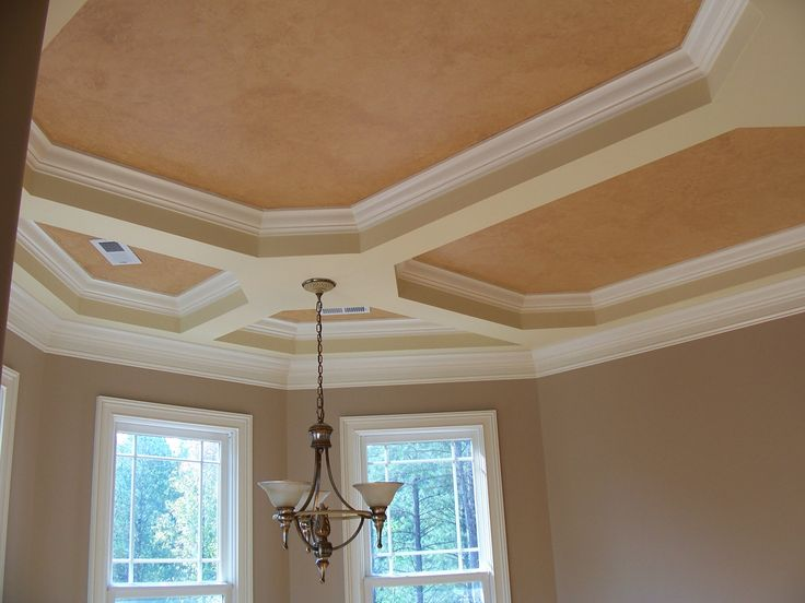 41 best images about tray ceiling ideas on pinterest for Custom ceiling designs