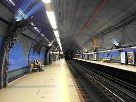 Françoise Schein | Estação / Station Parque | Metropolitano de Lisboa / Lisbon Underground | 1994 #Azulejo #FrançoiseSchein #MetroDeLisboa