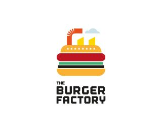 Burger Factory | http://www.logospire.com/logos/7728