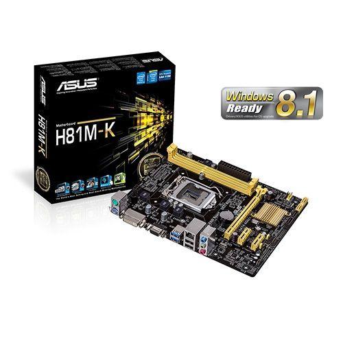 Asus H81M-K Socket 1150
