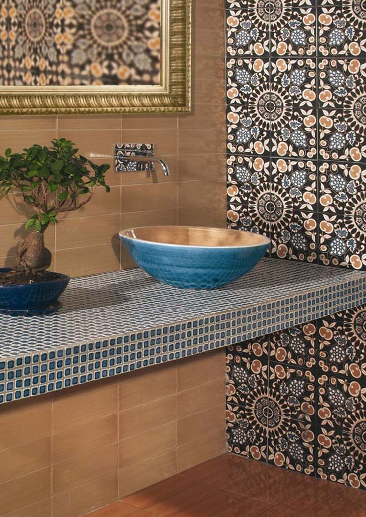 Ceramic wall tiles / flooring FIORI SCURI PERGOLATO Fiori Scuri Collection by CERAMICA FRANCESCO DE MAIO