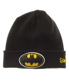New Era-Batman Team Essential Cuff Czapka Zimowa Czarna