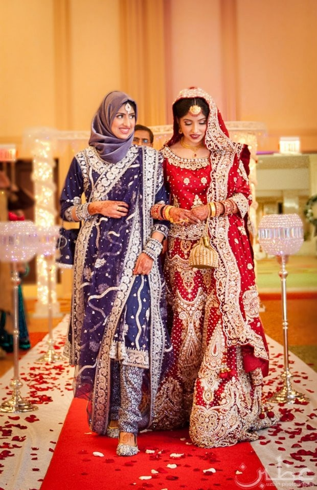 Indian muslim wedding dresses bride dress online uk for Indian muslim wedding dress