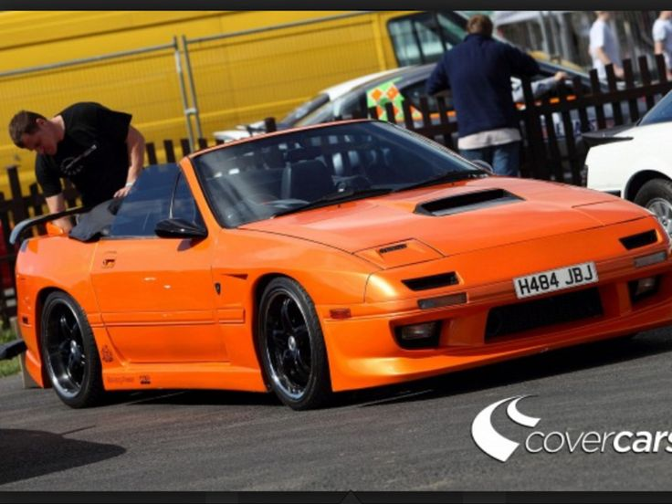 Rx7 Convertible Orange Pinterest Rx7 And Convertible