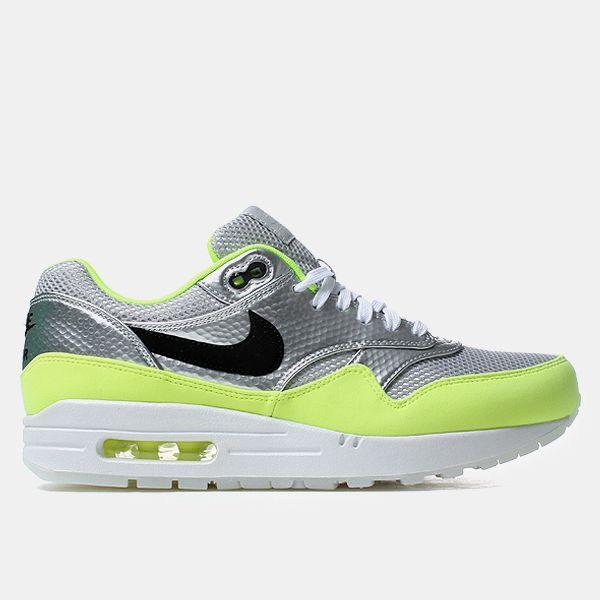 online store fdb96 f1d77 ... Nike Air Max 1 Fb Premium Qs Shoes - Metallic Silver ...