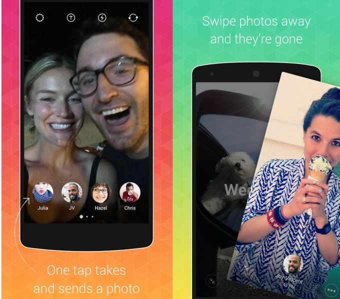 Instagram Launches One-Touch Photo And Video Messaging App Bolt Outside The US | TechCrunch