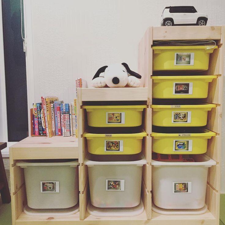 収納を素敵に☆IKEA(イケア)のトロファストで子どものおもちゃもきちんと片付く♡ | folk