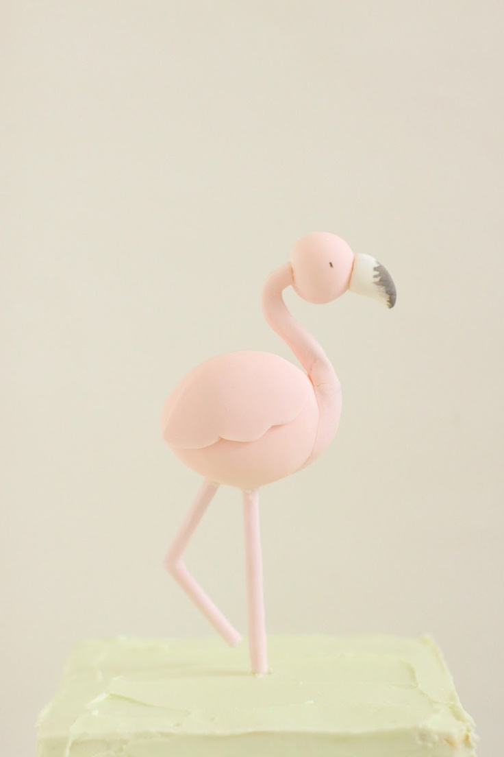 Flamingo Cake - hello naomi