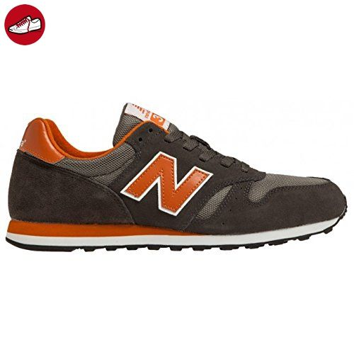 New Balance M373 D (14H), Unisex-Erwachsene Sneakers, Grau (SGO GREY/ORANGE), 42 EU (8 Erwachsene UK) (*Partner-Link)