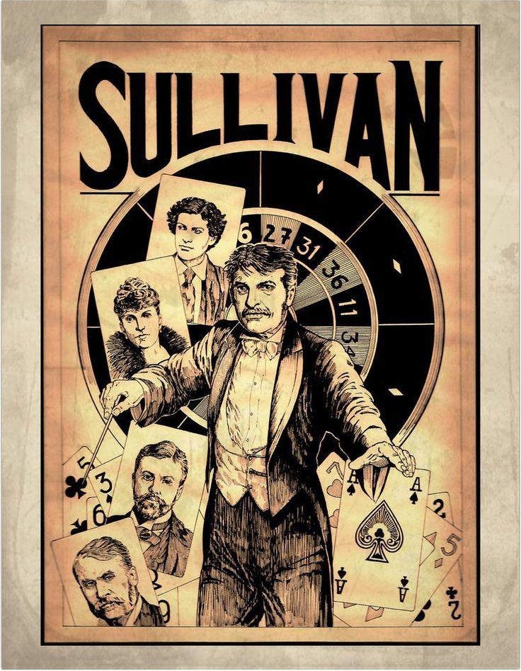 Portrait of Arthur Sullivan, by Styfflyttelkitteh on DeviantArt