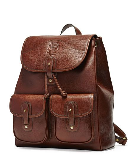 Blazer No. 278 Leather Backpack, Vintage Chestnut - Ghurka